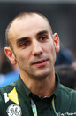 Caterham's Cyril Abiteboul in the paddock