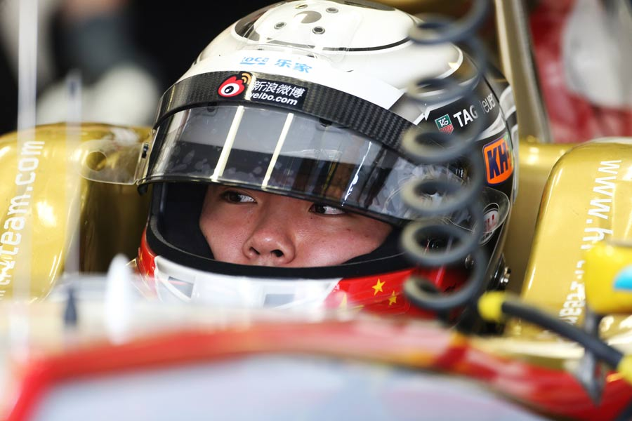 Ma Qing Ha in the HRT cockpit