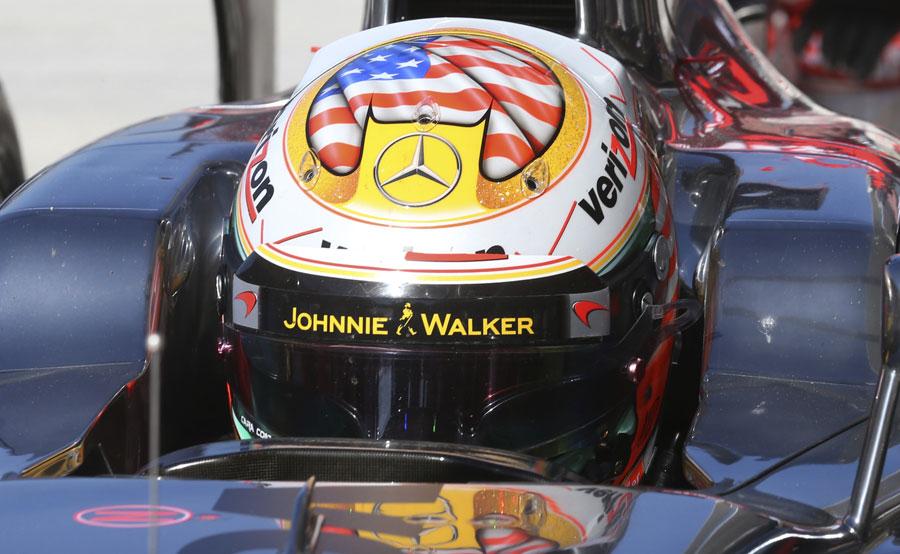 Lewis Hamilton's new helmet design