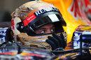 Sebastian Vettel's new helmet design