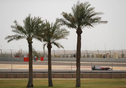 Jarno Trulli during the qualifying session of the Bahrain Grand Prix