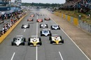 Rene Arnoux leads the field away in Kyalami