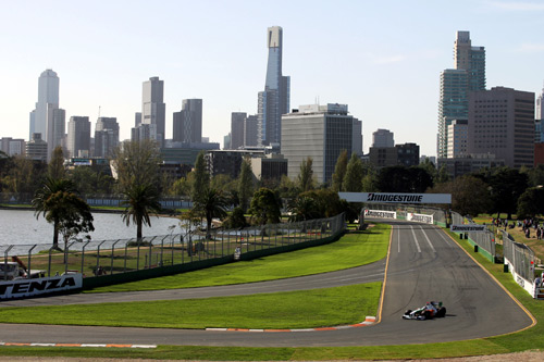 A general view of the Australian Grand Prix