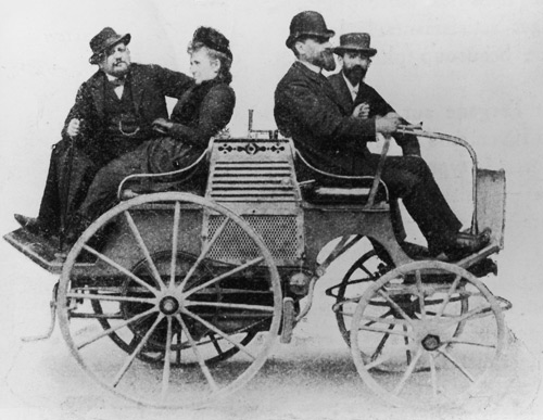 The first Panhard-Levassor car
