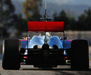 The rear-end of Lewis Hamilton's McLaren