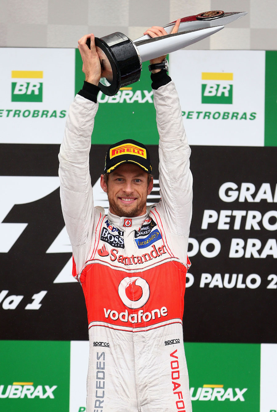 Jenson Button takes the plaudits after his 15th career win