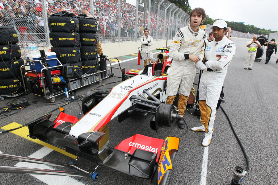 The final curtain? Narain Karthikeyan prepares for the last race of the season