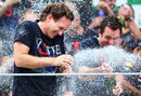 Christian Horner celebrates another Red Bull success
