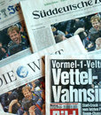 Pride of Germany: newspapers salute Sebastian Vettel's third world title