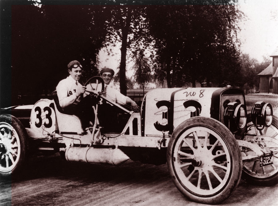 Ralph Mulford's Lozier at the 1911 Indianapolis 500