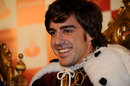 Fernando Alonso dresses up as a wise man