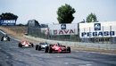 Gilles Villeneuve leads Jacques Laffite and John Watson