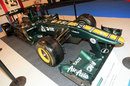 A Caterham on display at the Autosport show