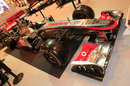 McLaren's MP4-26 on display at the Autosport show