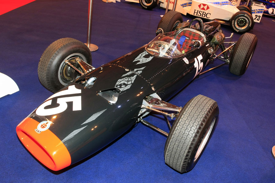 Jackie Stewart's BRM P261 at the Autosport Show