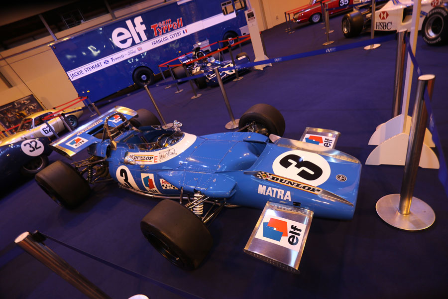 Jackie Stewart's championship-winning Matra MS80