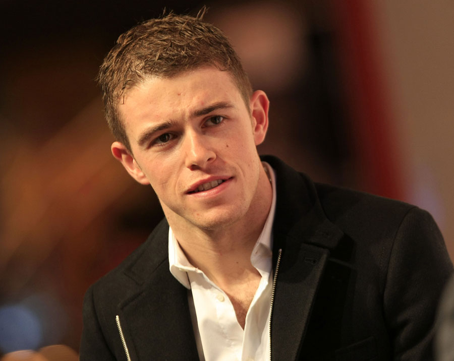 Paul di Resta answers questions at the Autosport Show