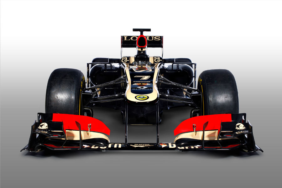The front of the new Lotus E21