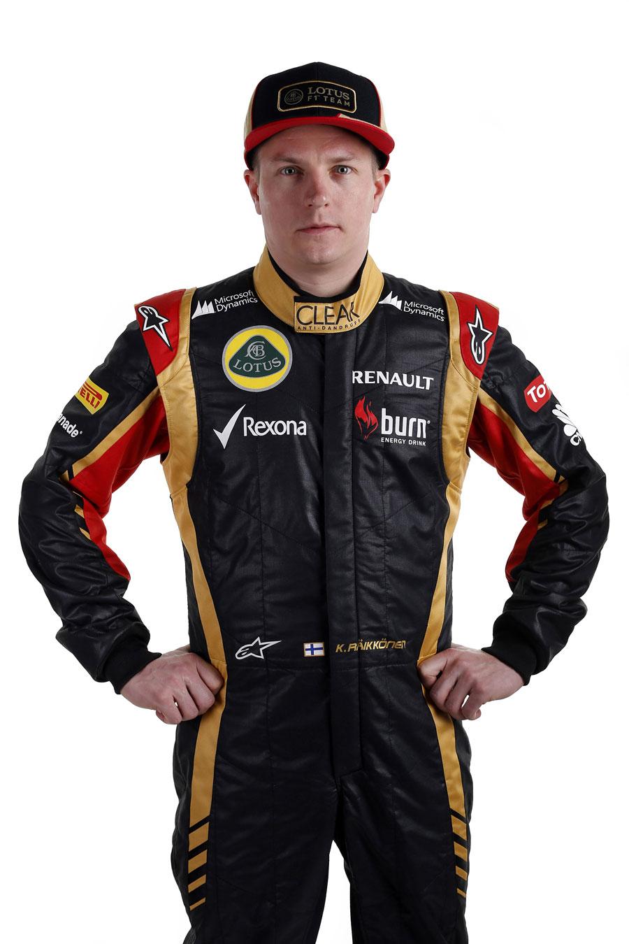 Kimi Raikkonen portrait