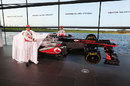 Jenson Button and Sergio Perez unveil the new MP4-28