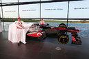Jenson Button and Sergio Perez unveil the new MP4-28