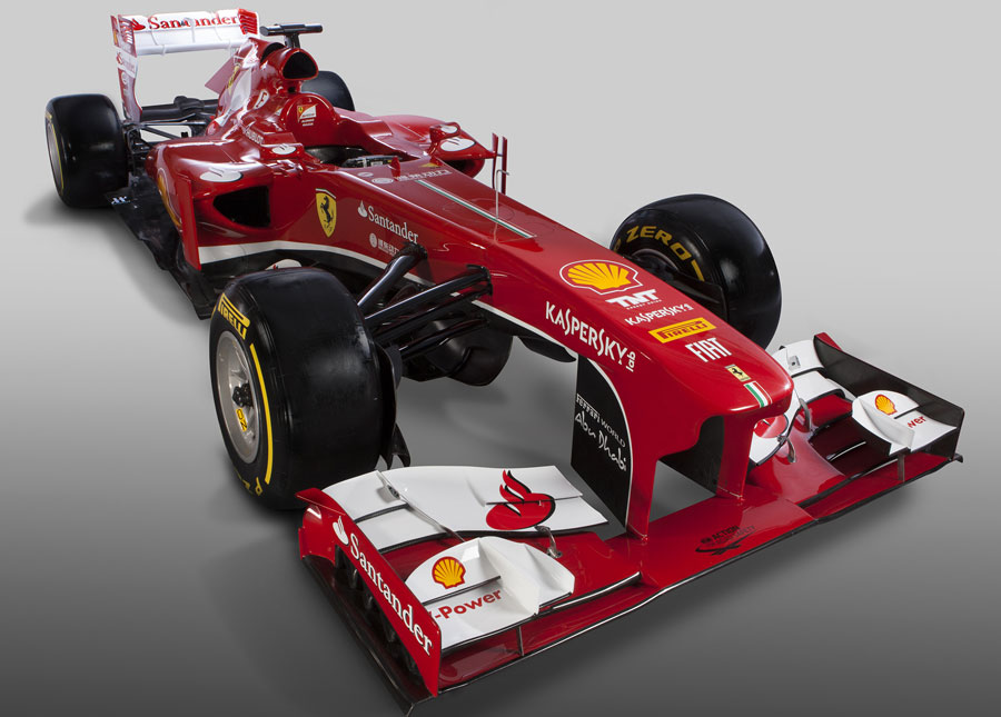 The new Ferrari F138