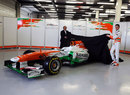 Deputy team principal Bob Fernley and Paul di Resta take the wraps off the new Force India VJM06