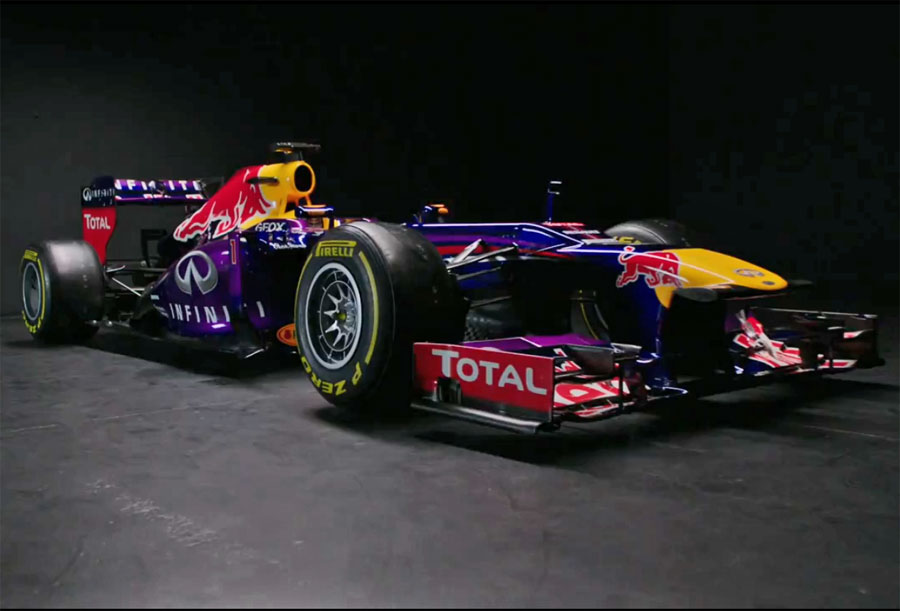 The new Red Bull RB9