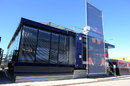 The Toro Rosso hospitality unit in Jerez