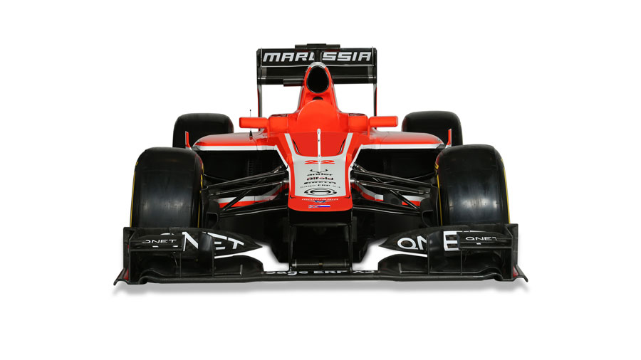 Marussia's new MR02