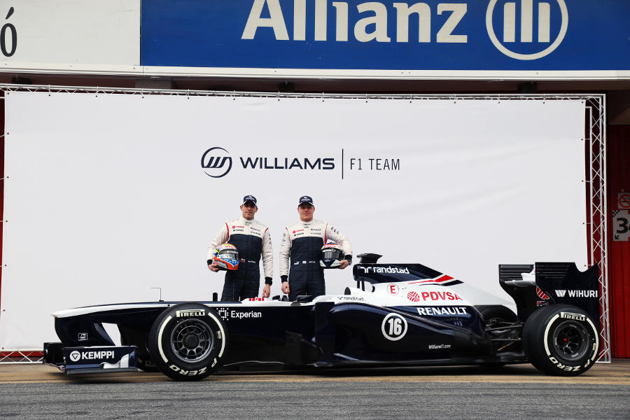 The final launch of the season as the Williams is unveiled