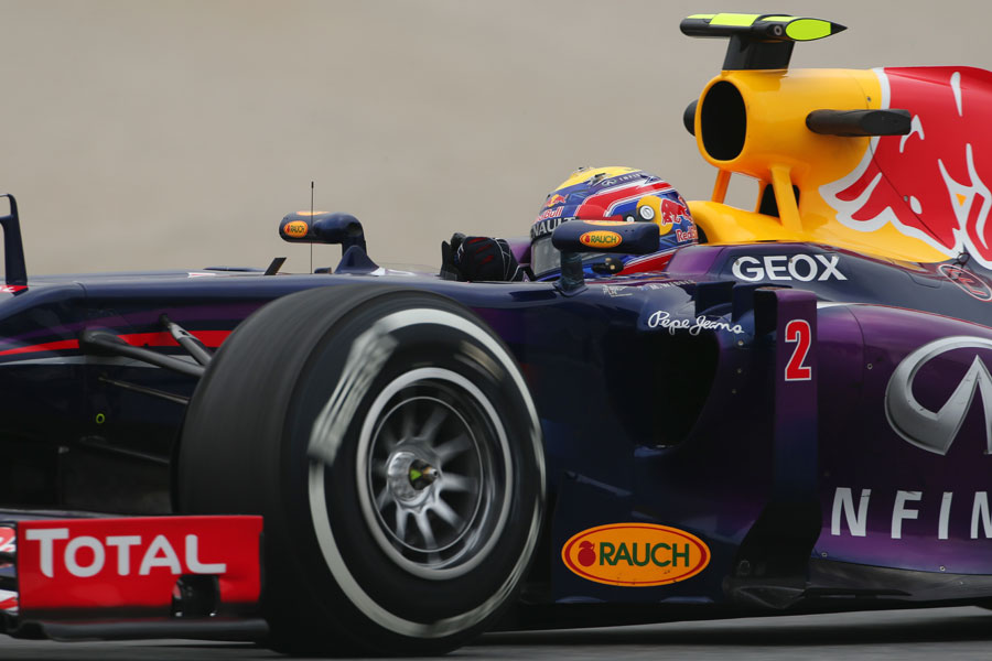 Detail on the Red Bull RB9