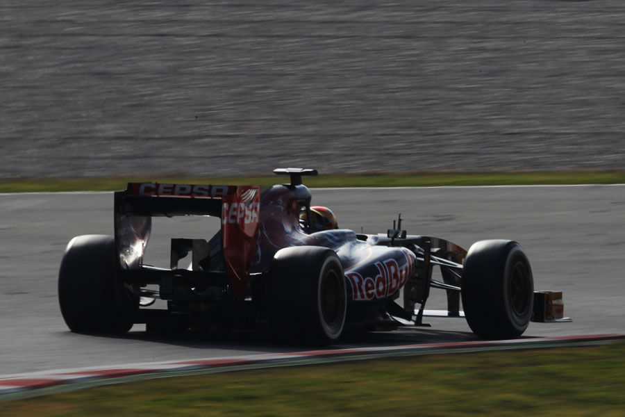 Jean-Eric Vergne in the afternoon sunshine