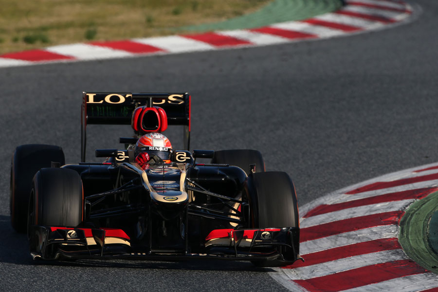Romain Grosjean attacks turn two