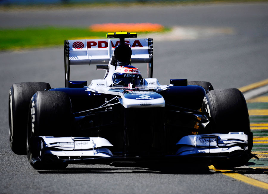 Valtteri Bottas during FP1
