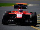 Jules Bianchi in the Marussia during FP1