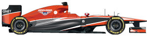 Marussia car 2013