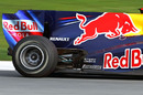 Red Bull put stickers on its RB6 to look like exhaust outlets