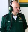 Mike Gascoyne contemplative at Jerez