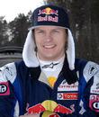Kimi Raikkonen at the Swedish Rally