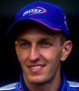 Prost driver Luciano Burti