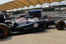 Pastor Maldonado leaves the Williams garage