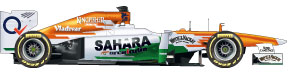 Force India car 2013