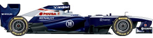 Williams car 2013