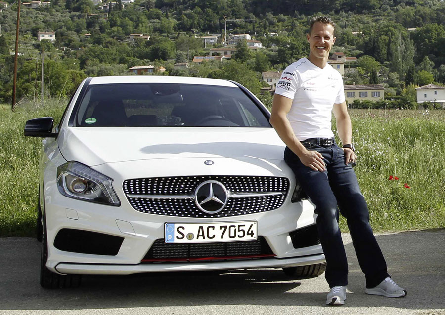 Michael Schumacher and Mercedes announce a new long-term partnership