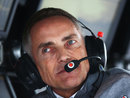Martin Whitmarsh on the pit wall