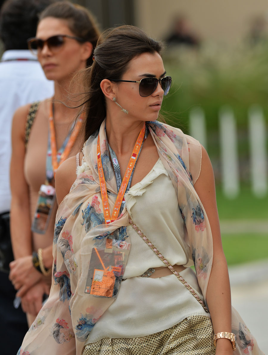 A VIP in the paddock