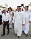 Bernie Ecclestone and Crown Prince Shaikh Salman bin Isa Hamad Al Khalifa