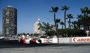 Niki Lauda leads comfortably in his McLaren