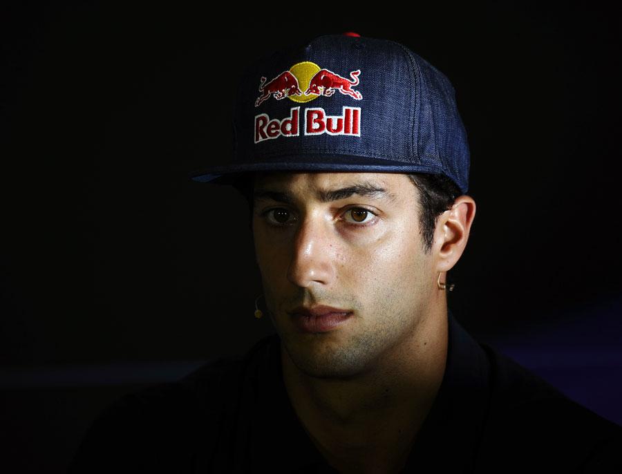 Daniel Ricciardo in the press conference